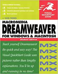 Macromedia Dreamweaver MX for Windows & Macintosh, Student