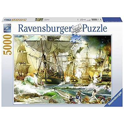 Ravensburger 13969 Battaglia In Alto Mare Puzzle 5000 Pezzi