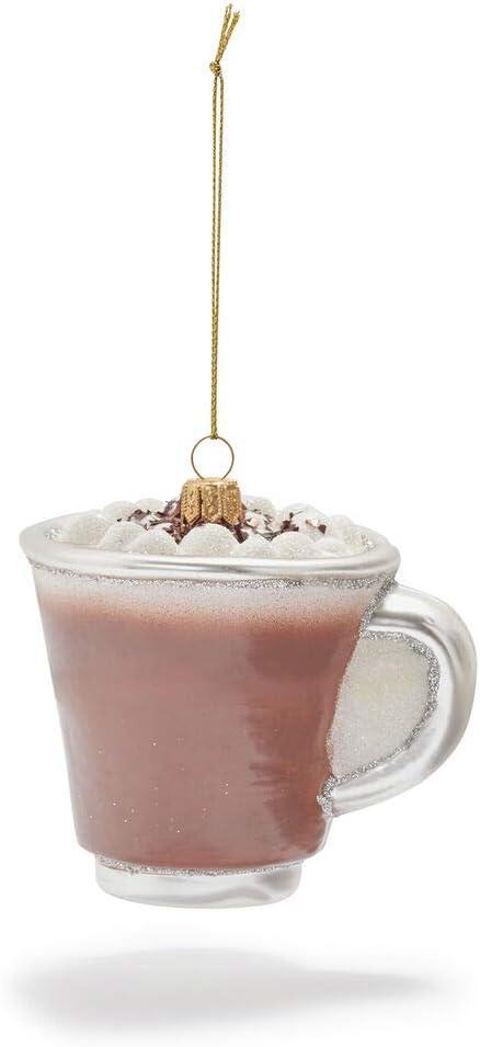Sur La Table Hot Chocolate Glass Ornament