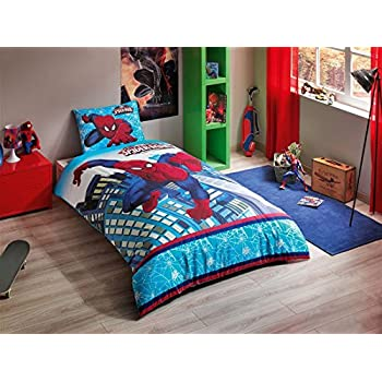 BEN 10 SINGLE TWIN SIZE 100/% COTTON KID BEDDING DUVET QUILT COVER SET 3 PCS