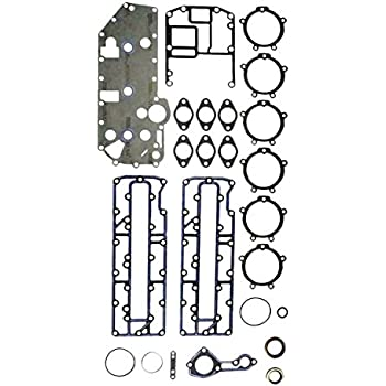 MERCURY 70-90 HP L3 Complete Power Head Gasket Kit WSM 500-206 OEM# 27-43004A99