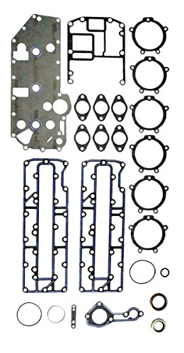 MERCURY 70-90 HP L3 Complete Power Head Gasket Kit WSM 500-206 OEM# 27-43004A99 ()