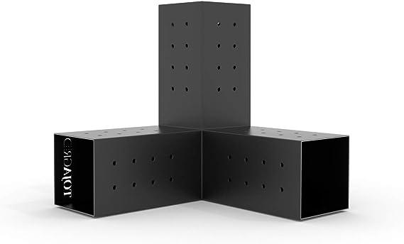 TOJA GRID G021030MB1 Trio 2 Pack para Postes de Madera 4 x 4 ...