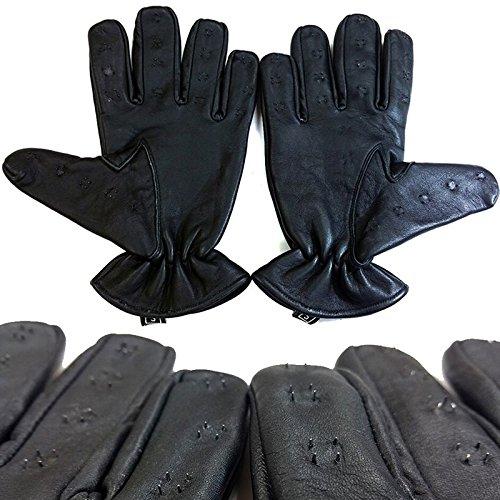 Kink Lab Rouge Vampire Gloves Black (Medium)