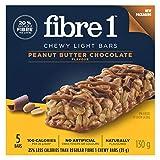 Fibre 1 Peanut Butter Chocolate, 5-Count, 130 Gram