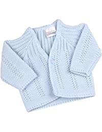 BabyPrem Preemie Baby Cardigan Jacket Boy Girl Buttons Soft Knitted 3-8lb