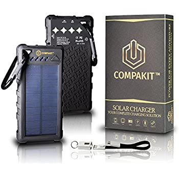 Amazon Com Solar Phone Charger By Compakit Huge