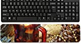 Liili Keyboard Wrist Rest Pad Long Extended Arm Supported Mousepad cup of hot mulled wine for Christmas and New Year IMAGE ID 34504406