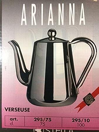 Tetera o cafetera Servir Arianna inoxidable Cl. 75: Amazon.es: Hogar