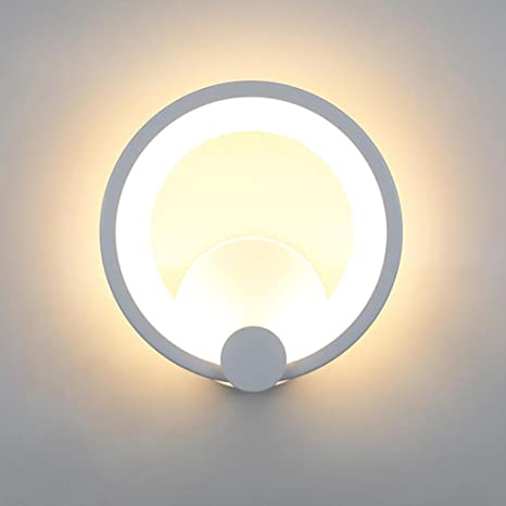 12 W - Lámpara de techo LED Modern anillos diseño Lámpara ...