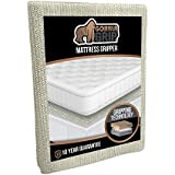 Gorilla Grip Original Slip Resistant Mattress Gripper Pad, Helps Stop Bed + Topper from Sliding, Stopper Works on Sofa and Couch, Easy to Trim Size, Strong, Durable Grips Help Slipping (Futon)
