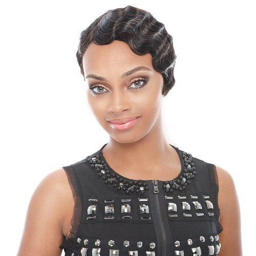 Fine Amazon Com Human Hair Mommy 2 In Jet Black Hair Replacement Short Hairstyles For Black Women Fulllsitofus
