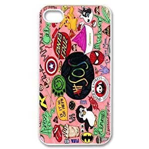 Best Quality [SteveBrady PHONE CASE] 5SOS,5 Second of Summer Band For Iphone 4 4SCASE-15