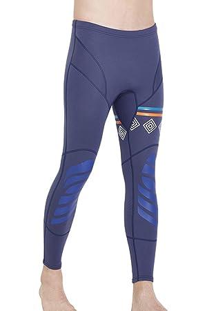 5 neopreno Amazon neopreno libre 1 para Azul akaeys Snorkel surf y aire hombre Tight de es Bañador nadar pantalones mm Deportes de para buceo Trajes SwF8qHP