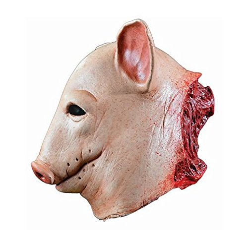 Costume Beautiful Blood Pig Mask by Halloween Party