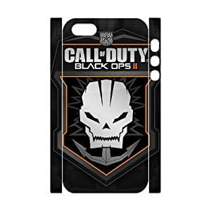 GGMMXO Call of Duty 1 Phone 3D Case For iPhone 5s [Pattern-1]