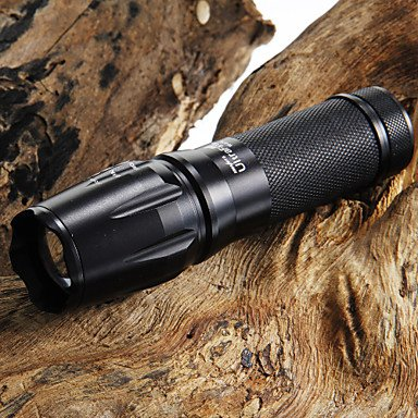 QHY UltraFire 2200LM CREE XM-L T6 LED Zoomable Focus Flashlight + 26650 Battery+Charger