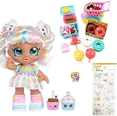 Kindi Kids Snack Time Friends Pre-School 10 Doll Marsha Mello Kid Toy Gift