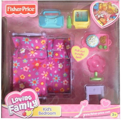 - Fisher Price Loving Family Doll House Kid's Bedroom