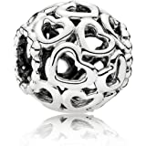 Pandora Open Your Heart Silver Charm 790964