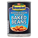 Branston Baked Beans in Tomato Sauce, Reduced Sugar & Salt (410g) - Pack of 6
