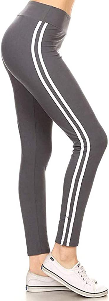 Womens High Waisted Tummy Control Workout Fitness Running Leggings Stretch Sport Pants Cathalem Yoga Pants for Women