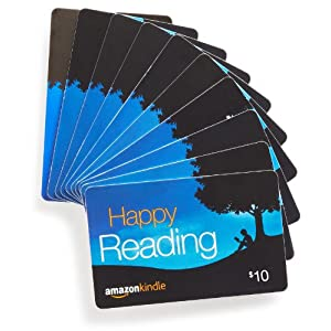 Best Epic Trends 51XCJ0M8BtL._SS300_ Amazon.com $10 Gift Cards, Pack of 10 (Amazon Kindle Card Design)