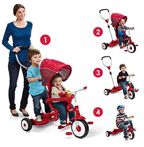Radio Flyer Ride And Stand Stroll N Trike Buy Online In
