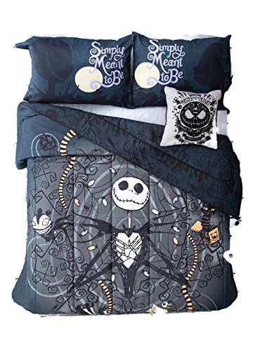 - The Nightmare Before Christmas Jack Snakes Full/Queen Comforter