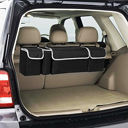 Toy Car Back Seat Organizer : Backseat car trunk organizer lumsing in