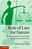 Rule of Law for Nature, , 1107043263