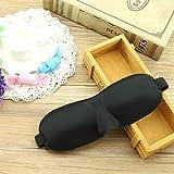 Saying Luxury 3D Eye Mask Shade Cover Rest Sleep Eyepatch Blindfold Shield Travel Sleeping, Sleep Anywhere, Anytime (A01)