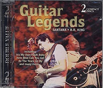 Guitar Legends by St. Clair: B.B. King, Santana: Amazon.es: Música