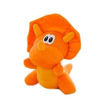 Simulación Animales de peluche dinosaurios y juguetes de peluche para niños (Dinosaurio anaranjado los 60cm