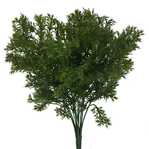 MagiDeal Artificial Plastic Branches Parsley