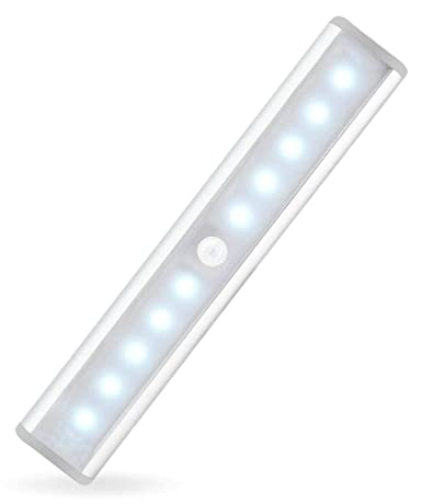 Charmant JEBSENS   T05 LED Under Cabinet Lighting, Rechargeable Battery Operated  Closet Light With Motion Sensor
