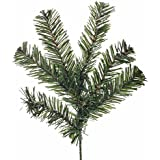 Group of 6 Artificial Caribou Pine Branches for Holiday and Home Decor