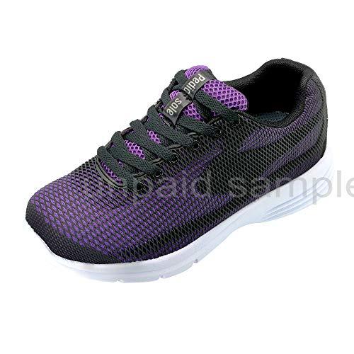 [New Upgraded Model] Women's Diabetic Shoes Comfort Width & Heel Pain, Edema Swollen Feet, Plantar Fasciitis, Bunions…