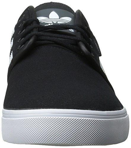 Zapatillas Adidas Originals Para Hombre Seeley Con Cordones Negro / Running White Gum