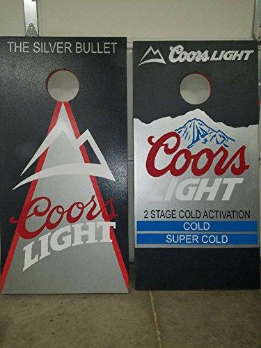 Coors light corn hole