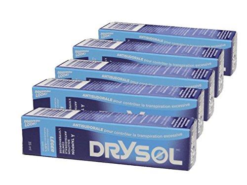 Biosense Clinic Drysol Dab On - Mild Strength 6.25% 35mlx5boxes