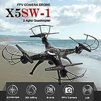 X5SW-1 Wifi RC Quadcopter Drone with HD Camera Black UAV ARF Drone FPV 2.4G HOT