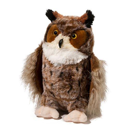 at Horned Owl Plush Stuffed Animal (Barn Owl Puppet)