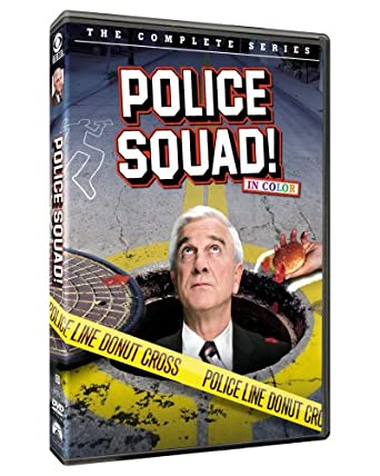 Amazoncom Police Squad The Complete Series Leslie