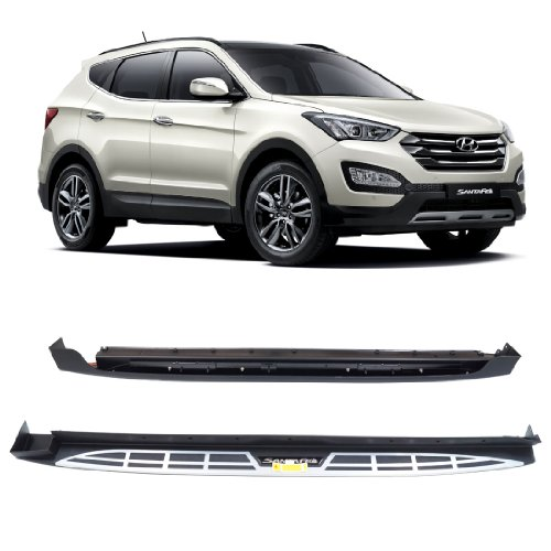 Running Boards Hyundai Santa - 4