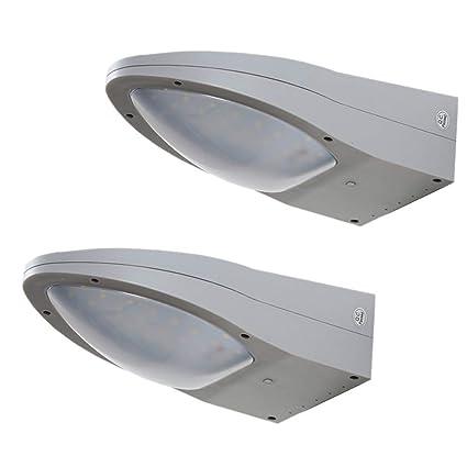LED Luz Solar,3 Modos Luces de Exterior Lámpara de Jardin con Sensor de 360
