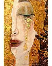 Gustav Klimt notebook | Gustav Klimt journal | Freya´s Tears of Gold