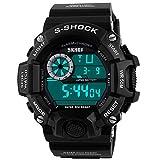 ALPS Men's S-Shock Multi Function Digital Waterproof LED Sport Watch