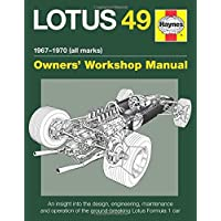 LOTUS 49 MANUAL 1967-1970 (ALL (Owners Workshop Manual)