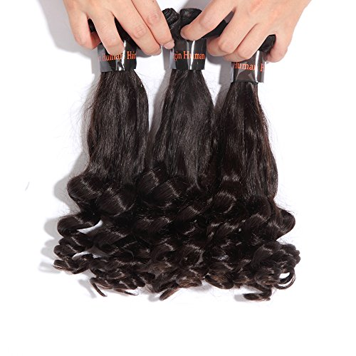 "121416"" 300Gram 8A unprocessed Human Hair Weft Extensions Remy human hair Virgin Malaysian Hair Funmi Hair 1b 3pcs/Lot"